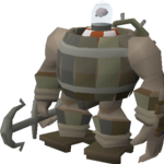 Bot in a barrel