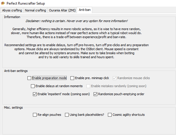 Perfect Runecrafter - Page 64 - Runecrafting - OSBot :: 2007