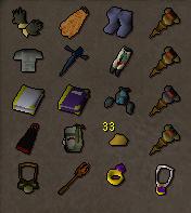 60 Attack Zerker / Barrows Gloves / Decent stats - Price
