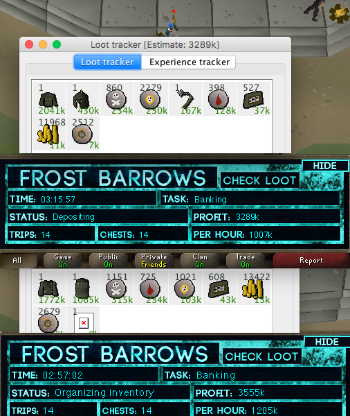Frost Barrows - Money Making - OSBot :: 2007 OSRS Botting